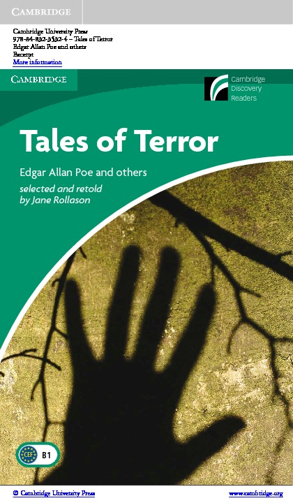 Изображение Tales of Terror + CD-ROM страница 1